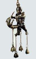 Tintinnabulum, depicting gladiator fighting his phallus